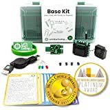 STEM kit that teaches kids real coding while they build fun and hands-on projects! Free software and projects compatible with Windows, Mac, and Chromebook computers. Kit contains 12 electronic pieces, carrying case, & reference cards for dozens of di...
