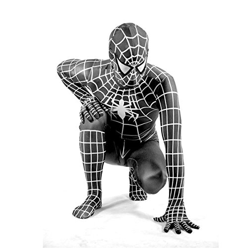 unbrand Super Spiderman Kostüm Kinder Herren Kinder Jungen Cosplay Partei Kostüm Held Halloween Cosplay