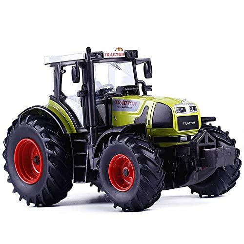 Xolye Modelo De Tractor Agrícola De Aleación, Coche De Granjero Eléctrico, Juguete...