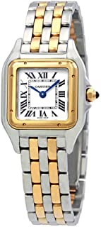Panthere de Cartier Ladies Two-Tone Stainless Steel and 18K Yellow Gold Watch W2PN0006