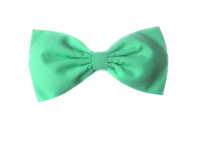 Kimberley Pineapple Yellow /& Mint green Fabric Glitter Hair Bow Clip 3.5/""