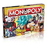 Winning Moves Dragon Ball Z Super Edition Monopoly - Italy Merchandising (Giocattolo)