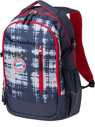 FC Bayern Schulrucksack mit Ihrem Wunschname