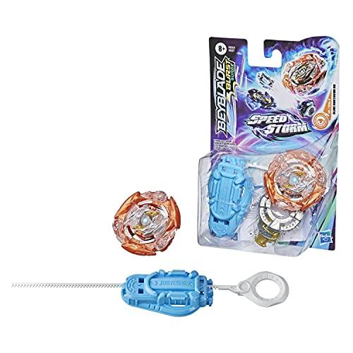 Hasbro Beyblade Burst Surge Speedstorm Vex Lucius L6 Kreisel Starter Pack – Battle Kreisel mit Starter, Multi Colour