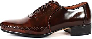 New Premium Model Fashion Mens Oxford Dress Formal Leather Shoes Brown