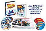 Back to the Future: 30th Anniversary Trilogy & Complete Animated Series (Complete Adventures - Bonus 64 Page Visual History Book - 9 Discs)