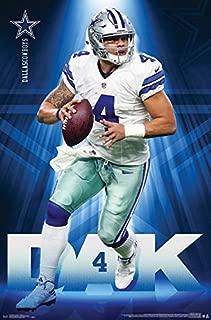 Dak Prescott - Dallas Cowboys - QB - 2017 - NFL Poster 22