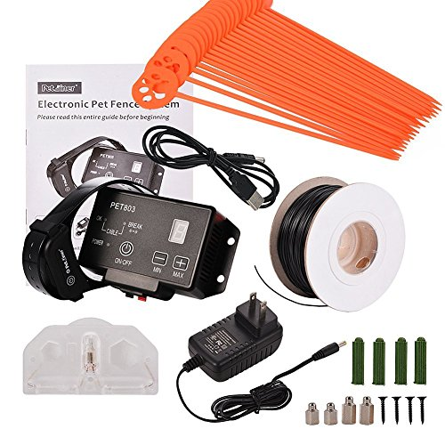 Advanced High Performance Electronic Dog Fence System Wireless Pet Containment System