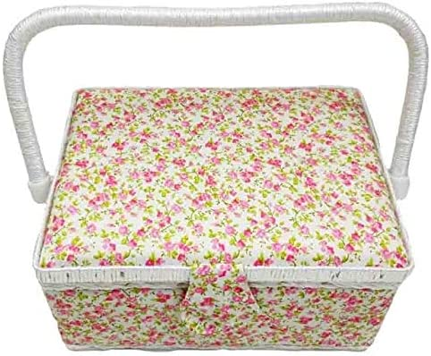 Rapid rise DD Storage Box WoodFabric Crafts Picnic Tool with Sewing N sold out