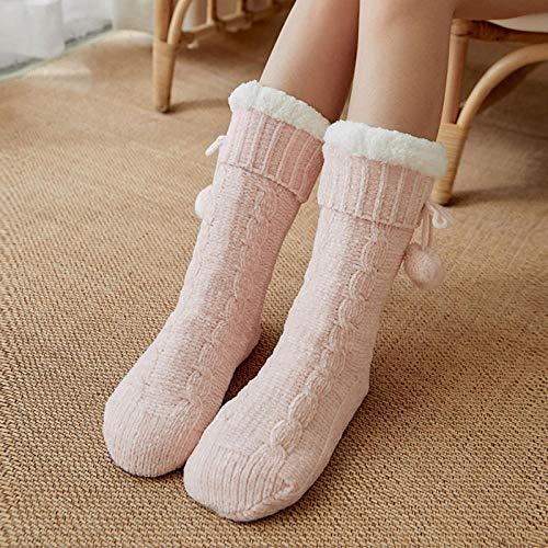 Zapatillas Casa Hombre Mujer Zapatillas De Invierno Para Mujer, Calcetines De Ganchillo Para Mujer,...