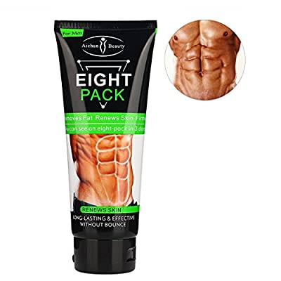 Fat Burning Cream, Anti Cellulite Cream Unisex Slimming Cream Fat Burning Muscle Belly Fat Burner for Weight Loss and Tighten Muscles