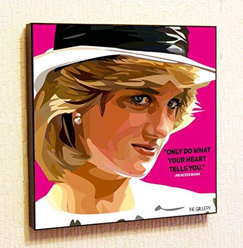Princess Diana Decor Motivational Quotes Wall Decals Pop Art Gifts Portrait...