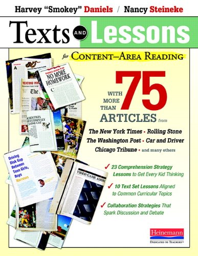 Texts and Lessons for Content-Area Reading: With More Than 75 Articles from The New York Times, Roll
