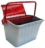 Nespoli 80213–Cubo para pintura, rojo, set de 2piezas