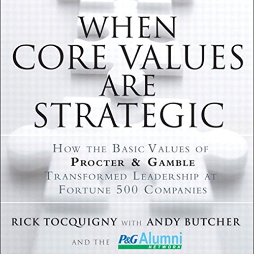 When Core Values Are Strategic audiobook cover art