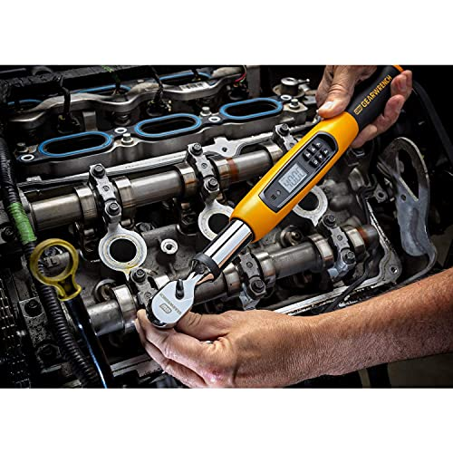 """GEARWRENCH 3/8"""" Drive Electronic Torque Wrench, 10-135 Nm - 85076"""