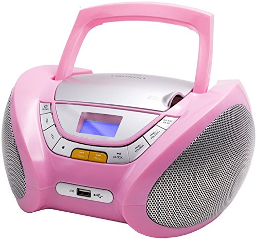 CD-Player   Tragbares Stereo Radio   Kinder Radio   Stereo Radio   Stereoanlage   Boombox   LCD-Display   USB-Anschluss   AUX IN   FM Radio