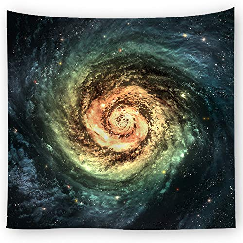 jtxqe dekorative Stoff kosmischen Druck Tapisserie 7 150X130cm