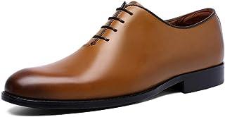 [ALX WANG] ビジネスシューズ メンズ靴 高級 本革 通気快適 オールシーズン 就活 通勤 普段用 プレーントゥ 紳士靴 滑り止め振動減少 ブラック/ブラウン 24-26.5