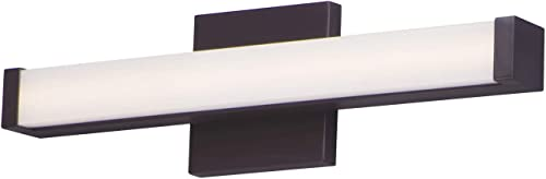 popular Maxim lowest Lighting 52000BZ outlet online sale Signature LED 18 inch Bronze Bath Vanity Wall Light outlet sale