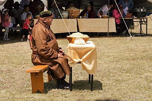 CZWSLS Puzzles 1000 Stück Puzzles für Erwachsene Puzzle Erwachsene -Mongolischer Mann im traditionellen Mantel