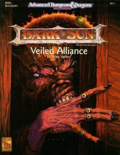 Veiled Alliance (AD&D/Dark Sun Accessory DSR3) (DSR3, Advanced Dungeons & Dragons, 2nd Edition, 2411)