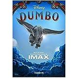 MGSHN Dumbo Film Tim Burton Colin Farrell 2019 Kunst Poster