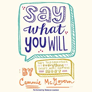 Say What You Will cover art