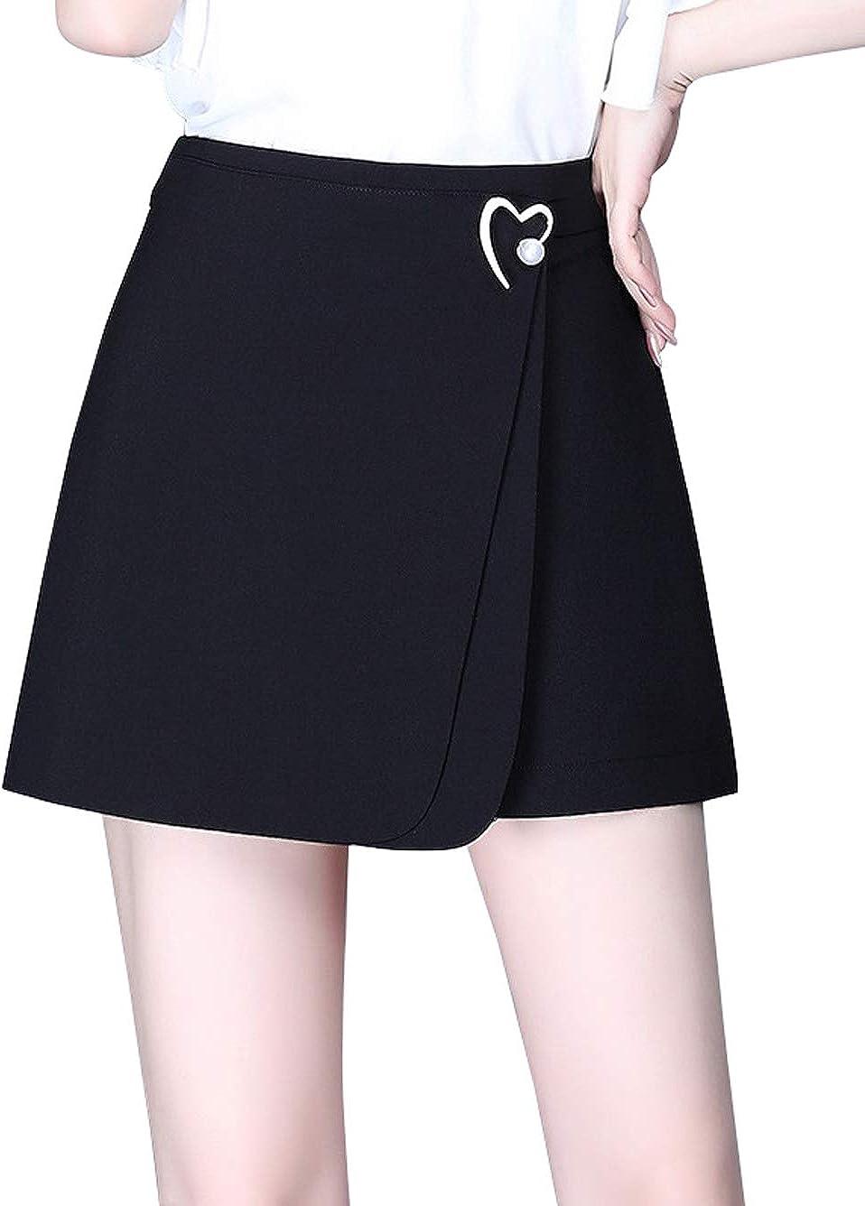 CHARTOU Women's Elegant High Waist Elegant Lin OFFer Asymmetrical Heart Wrap A