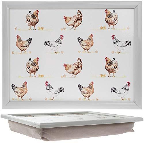 Leonardo Plateau Mackintosh en m/élamine motif coq et poule