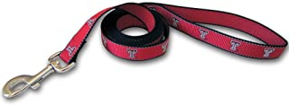 Sporty K9 Collegiate Texas Tech Red Raiders Reflective Dog Leash, Large