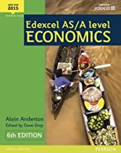 Edexcel AS/A Level Economics 2015 (Edexcel A level Economics 2015) by Mr Alain Anderton (2015-08-20)