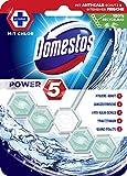 Domestos WC-Stein Power 5 Chlor (mit 100% recycelbarem Körbchen), 9er Pack (9 x 55 g)