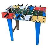 AJH Foosball Table Sports Games Mini Table Top Foosball Table Portátil recreativo Fútbol de Mano Mesa de futbolín Juegos de competición Fútbol de Mesa Juego de fútbol par