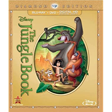 The Jungle Book (Two-Disc Diamond Edition: Blu-ray / DVD + Digital Copy)