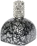 AIRDRAGON Quemador de aroma catalítico, cristal y mosaico de espejo, altura aprox. 14 cm