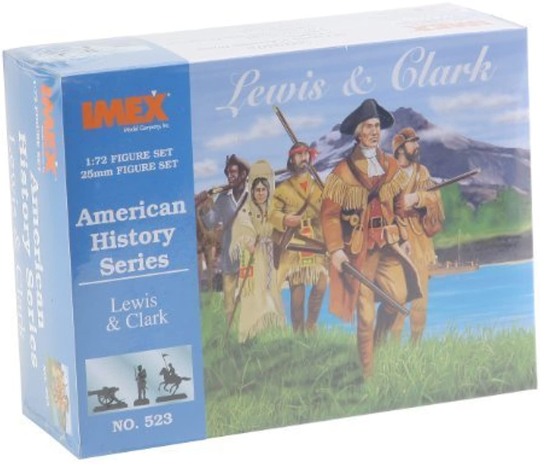 Lewis & Clark American History Figures Set 1 72 Imex by Imex B00U1ZVU5I Bevorzugtes Material    Große Ausverkauf