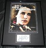 Andie MacDowell Signed Framed Photo Sex Lies Videotape
