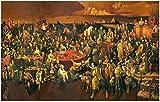 Rompecabezas de madera 3D 520/1000 / 1500 piezas de rompecabezas de pintura discutir la comedia divina con Dante (Einstein Tolstoj Gates Anderson Putin, etc. URG