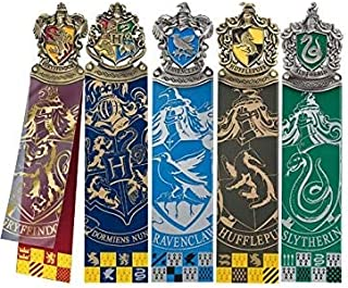 Harry Potter Crest Bookmark Collection