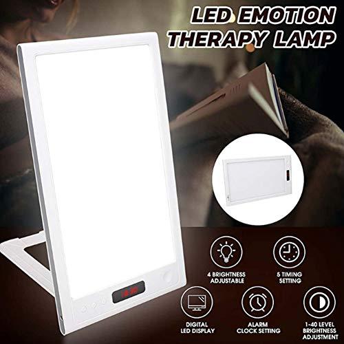 Daglichtlamp 10000 Lux Phototherapy LED Bionic Sun Light UV Free met 4 verstelbare helderheidsniveaus en 5 timers voor slaapkamer, kantoor