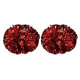 VGEBY1 Cheerleader Pom Poms, 1 Paar 8 Farben Cheer Poms Pack Cheerleading Metallic-Folie für...