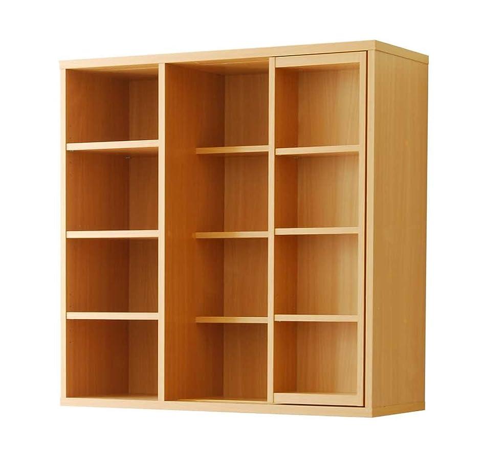 長々と財布出口Frama Furniture(フラマファニチャー) 低ホルムアルデヒド シングルスライド書棚奥深タイプ ナチュラル KSS-0006ENA