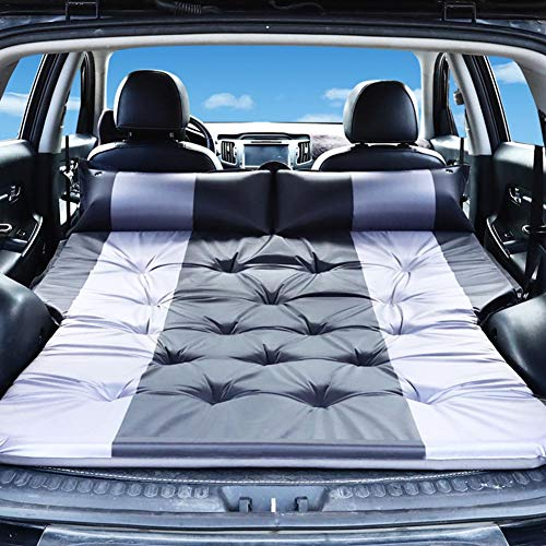 Auto SUV Aufblasbare Matratze Tragbare Bewegliche Dickere Luftbett, Luftmatratzen Selbstaufblasbar mit Tragetasche für Reisen Camping Outdoor Aktivitäten