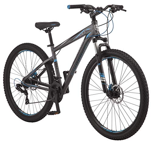 Mongoose Impasse HD Mens Mountain Bike, 18-inch Frame, 29-inch Wheels with Disc Brakes, Charcoal, 29 M Mng Impasse HD Charcoal