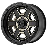 XD SERIES BY KMC WHEELS XD133 FUSION OFF-ROAD BLACK Wheel Chromium (hexavalent compounds) (17 x 9. inches /6 x 106 mm, -12 mm Offset)