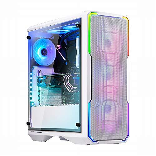 Caja BitFenix Enso Mesh RGB Midi-Tower, Tempered Glass–Blanco bfc-esm-150-wwwgk-rp