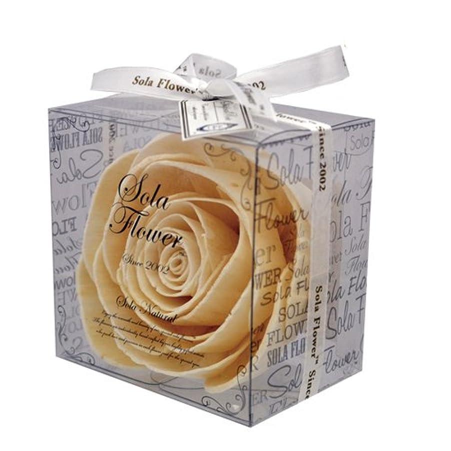 カフェ暗唱するマラソンnew Sola Flower ソラフラワー ナチュラル Original Rose オリジナルローズ Natural