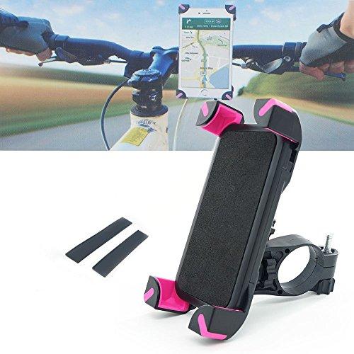 Xcellent Global support de vélo moto universel pour téléphone pour iPhone 6s Plus/6/5/4, Samsung S6/S5/S4/S3, Google Nexus, LG, HTC et GPS FS031R