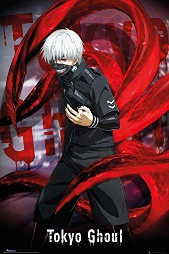 Grupo Erik Tokyo Ghoul Ken Kaneki Alone Poster-11 x 17 pulgadas, 28 x 43 cm